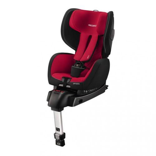Scaun auto pentru copii cu isofix OptiaFix Racing Red - Scaune cu isofix -