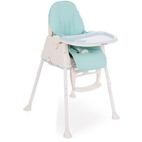 Scaun de masa 2 in 1 Kikka Boo Creamy - Albastru - Booster copii -