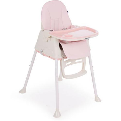 Scaun de masa 2 in 1 Kikka Boo Creamy - Roz - Booster copii -