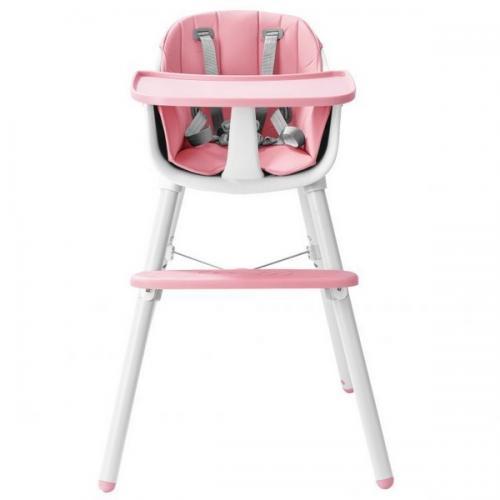 Scaun de masa Ecotoys HC-323 roz - Booster copii -