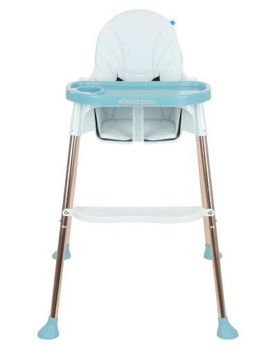 Scaun de masa KikkaBoo Sky-High 2020 Blue - Booster copii -