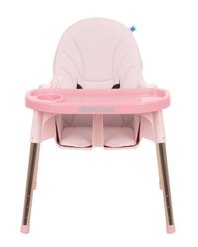 Scaun de masa KikkaBoo Sky-High 2020 Pink - Booster copii -