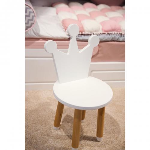 Scaunel pentru copii Home Concept Play Time - Coroana - Camera copilului - Mobila camera copii
