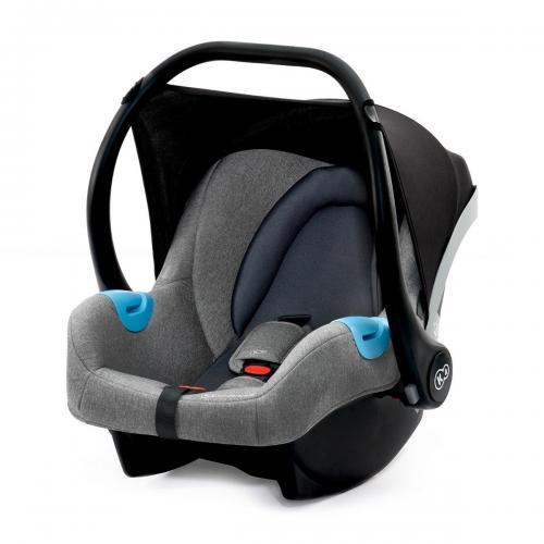 Scoica auto Kinderkraft Mink - 0 - 13 Kg - Gri - La plimbare - Scoica auto bebelusi