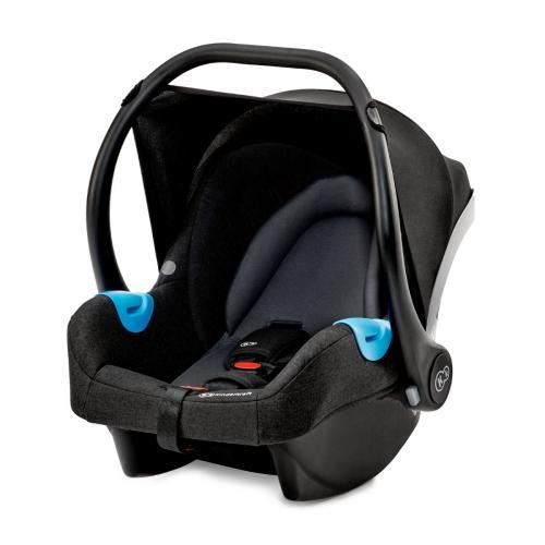 Scoica auto Kinderkraft Mink - 0 - 13 Kg - Negru - La plimbare - Scoica auto bebelusi