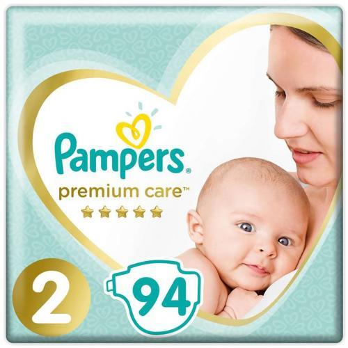 Scutece Pampers Premium Care - Nr 2 - 4 - 8 kg - 94 buc - Ingrijirea bebelusului - Scutece bebelusi