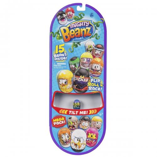 Set 15 figurine Mighty Beanz - Mega Pack - S1 - Figurine pentru copii -