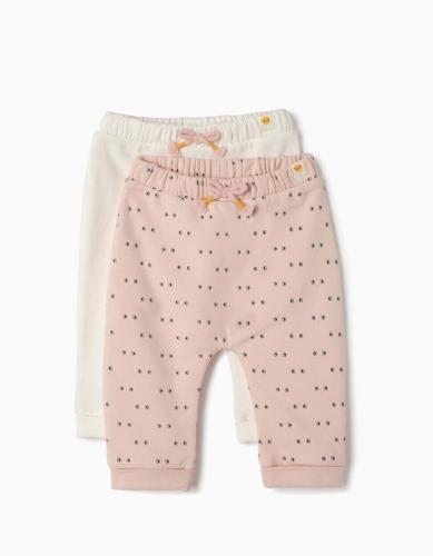 Set 2 buc pantaloni bebe Zippy - Imbracaminte copii - Pantaloni