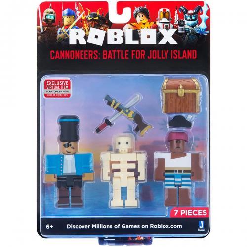 Set 2 figurine Roblox - Cannoneers: Battle For Jolly Island - Figurine pentru copii -