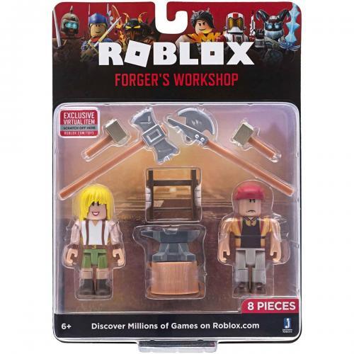 Set 2 figurine Roblox - Forgers Workshop - Figurine pentru copii -