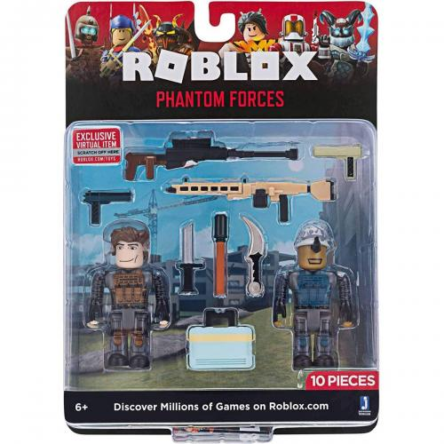 Set 2 figurine Roblox - Phantom Forces - Figurine pentru copii -