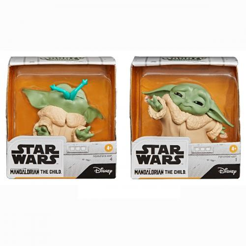 Set 2 figurine Star Wars - Baby Yoda - The Child - Froggy Force - 5 cm - Figurine pentru copii -