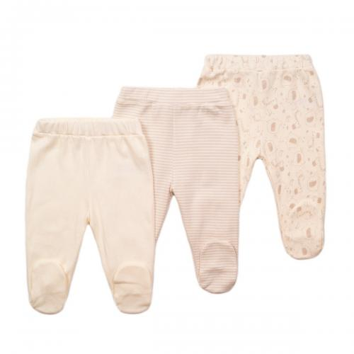 Set 3 pantaloni bebe Minoti Moon - Imbracaminte copii - Pantaloni