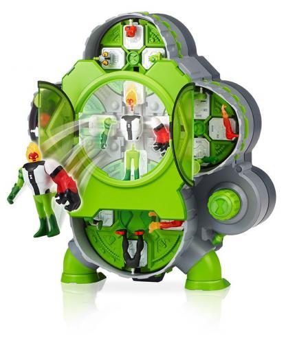 Set 4 Figurine Ben 10 - Camera de creare a extraterestrilor - Figurine pentru copii -