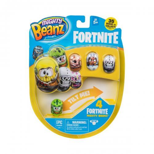 Set 4 figurine Mighty Beanz Fortnite - S1 - Figurine pentru copii -