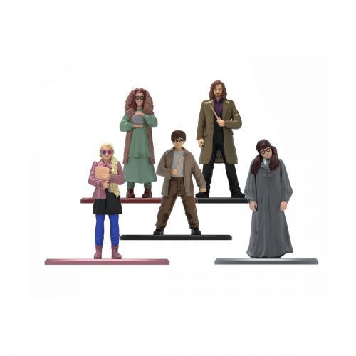 Set 5 figurine din metal Harry Potter - 6 cm - Figurine pentru copii -