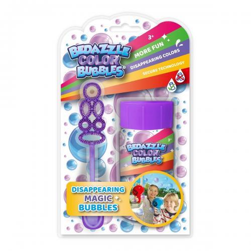 Set bagheta si rezerva de sapun Bedazzle - Mov - 50 ml - Jucarii copii -