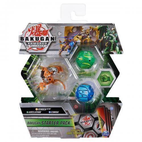 Set Bakugan Armored Alliance - Eenoch Ultra - Auxillataur - Cimoga 20124821 - Figurine pentru copii -