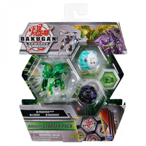 Set Bakugan Armored Alliance - Pegatrix Ultra - Cimoga - Dragonoid 20124817 - Figurine pentru copii -