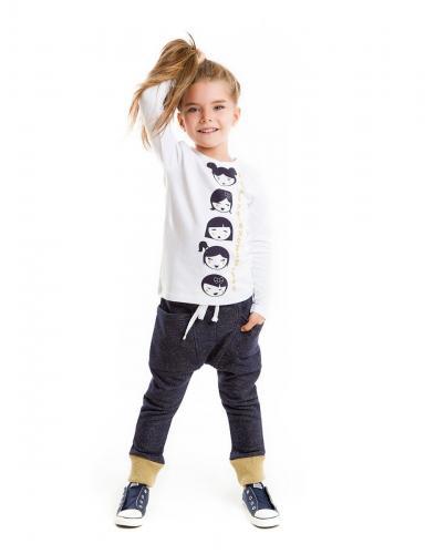 Set bluza cu imprimeu si pantaloni sport Japan Mushi - Imbracaminte copii - Bluze corp