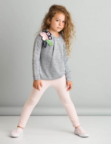 Set bluza si colanti Romantic Flowers Mushi - Imbracaminte copii - Bluze corp