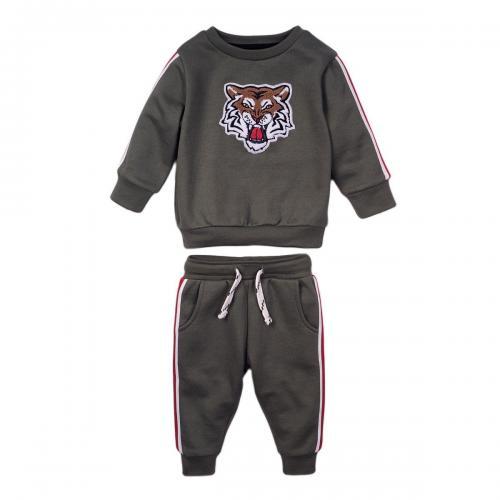 Set bluza si pantaloni sport Tiger Minoti 3Todjset - Imbracaminte copii - Bluze corp