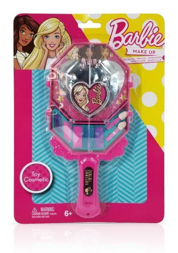 Set de cosmetice cu oglinda - Barbie - Jucarii de imitatie -