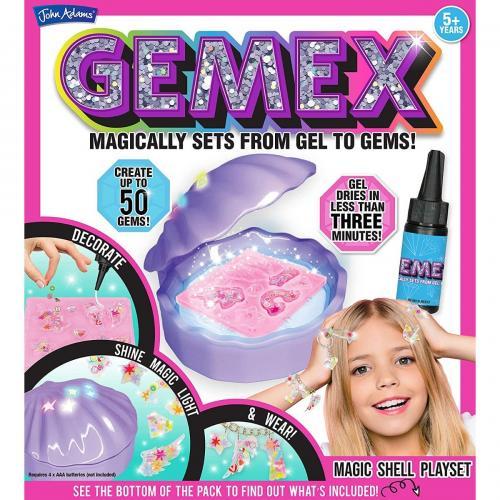 Set de creatie Gemex - Bijuterii cu scoica magica - Jocuri creative -