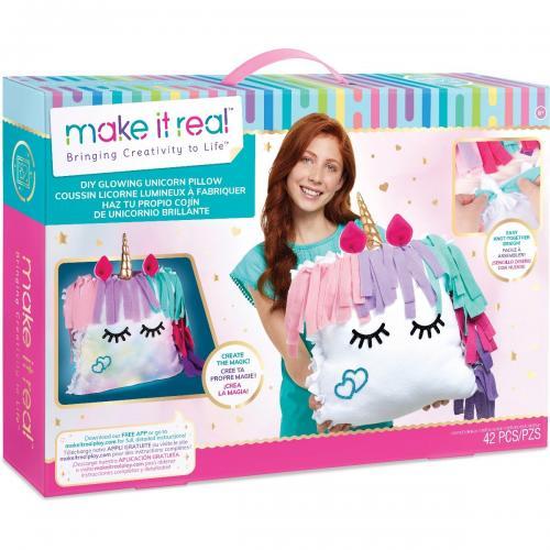 Set de creatie Make It Real - Pernuta luminoasa Unicorn - Jocuri creative -