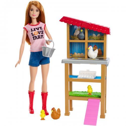 Set de joaca Barbie - Fermier - FXP15 - Papusi fetite -