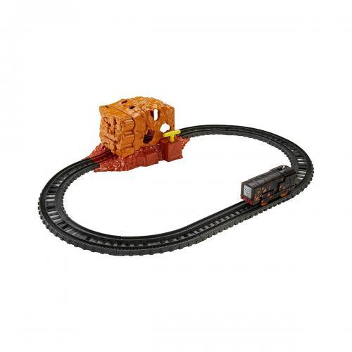 Set de joaca cu locomotiva motorizata - Thomas And Friends - Tunelul - Masinute copii -