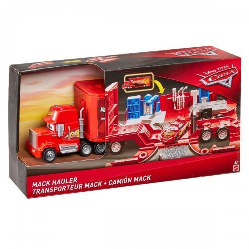 Set de joaca Mega Transportatorul Disney Cars - Mack FTT93 - Masinute copii -