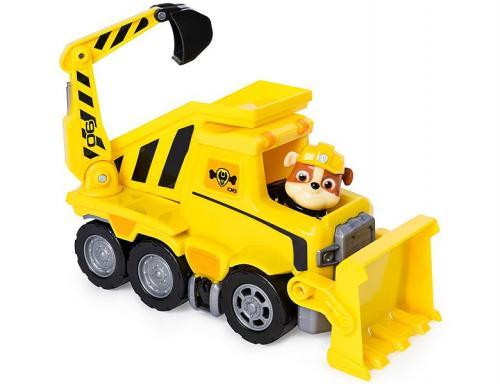 Set de joaca Paw Patrol Vehicule Tematice si Rubble - Figurine pentru copii -