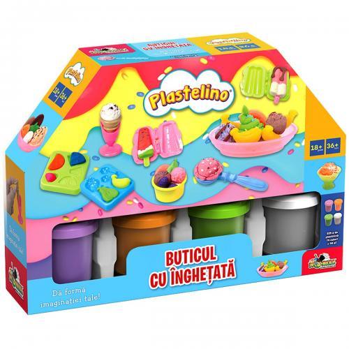 Set de joaca Plastelino - Buticul cu inghetata - Seturi jucarii -