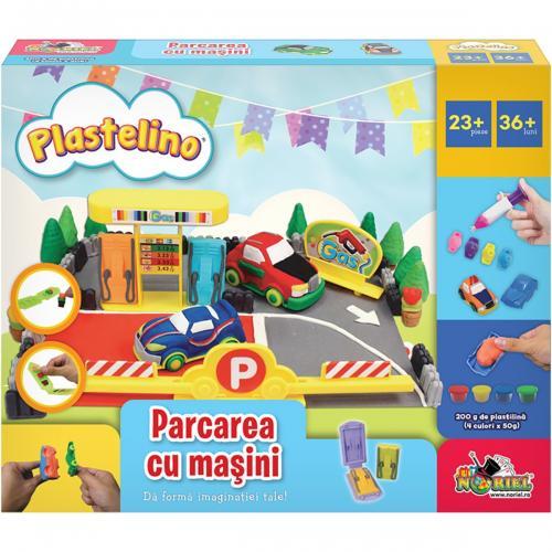 Set de joaca Plastelino - Parcarea cu masini - Seturi jucarii -