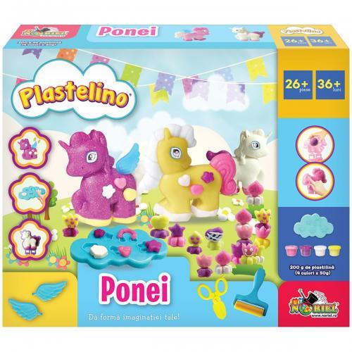 Set de joaca Plastelino - Ponei - Seturi jucarii -