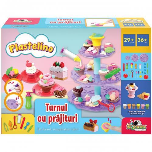 Set de joaca Plastelino - Turnul de prajiturele - Seturi jucarii -
