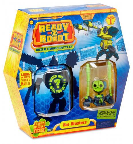 Set de lupta Ready2Robot Seria 1 - Style 1 (553946E5C) - Figurine pentru copii -