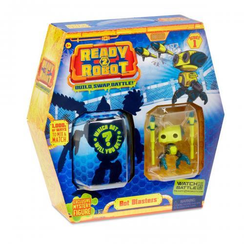Set de lupta Ready2Robot Seria 1 - Style 4 (553977E5C) - Figurine pentru copii -