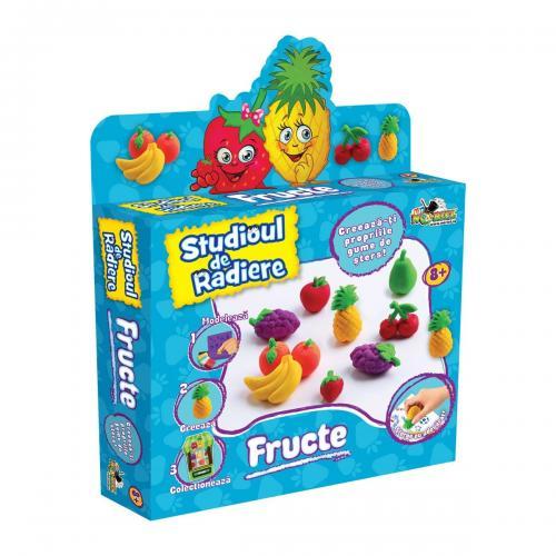 Set de modelat Noriel Studioul de radiere - Fructe - Seturi jucarii -