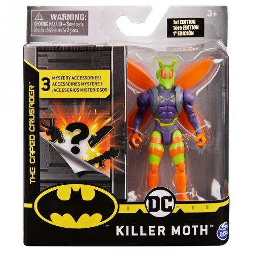 Set Figurina cu accesorii surpriza Batman - Killer Moth 20124538 - Figurine pentru copii -