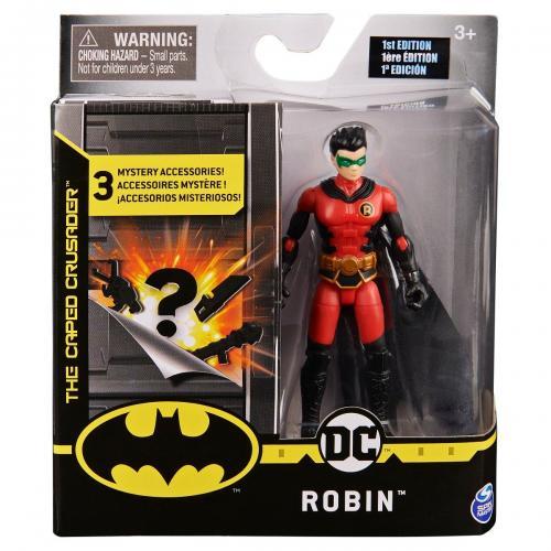 Set Figurina cu accesorii surpriza Batman - Robin 20124526 - Figurine pentru copii -