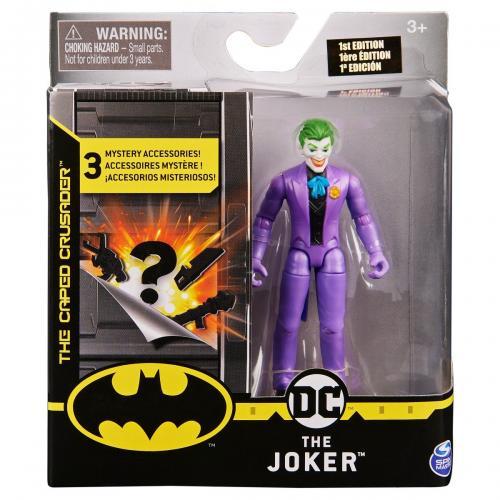 Set Figurina cu accesorii surpriza Batman - The Joker 20124529 - Figurine pentru copii -