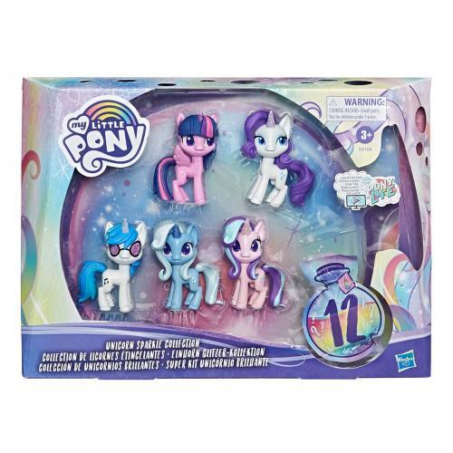 Set figurine cu accesorii My Little Poney - Unicorn Sparkle Collection - Figurine pentru copii -