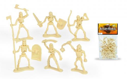 Set figurine flexibile Toy Major - Skeleton Warrior Figure - Figurine pentru copii -