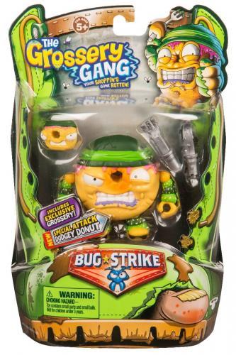 Set figurine Grossery Gang - Dodget Donut - S4 - Figurine pentru copii -
