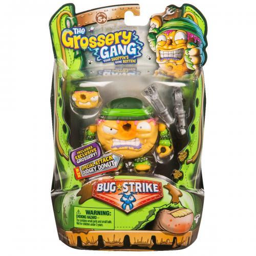 Set figurine Grossery Gang Dodget Donut - Sezonul 4 - Figurine pentru copii -