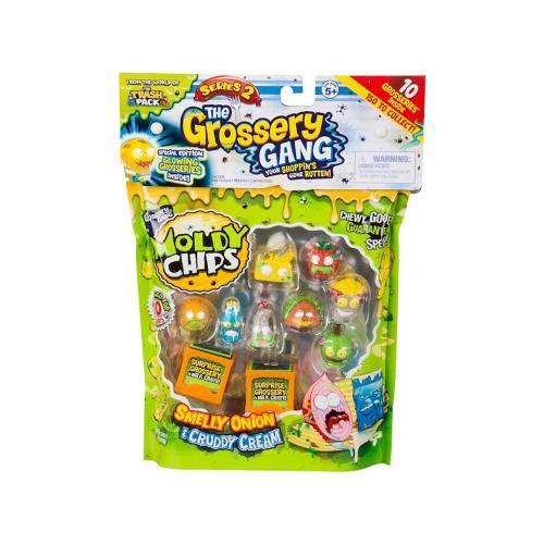 Set Figurine Grossery Gang - Sezonul 2 - Figurine pentru copii -