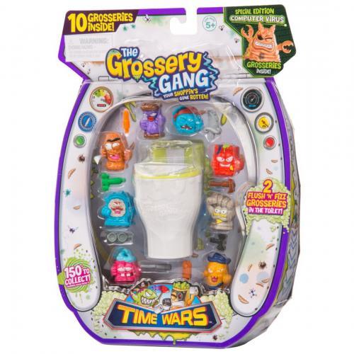 Set figurine Grossery Gang - Time Wars - S5 - Large - Figurine pentru copii -