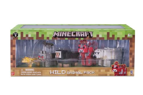 Set Figurine Minecraft - Animale Salbatice (6 piese) - Figurine pentru copii -